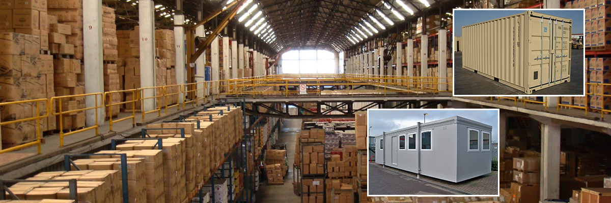 CONTAINERS & PORTABLE CABINS